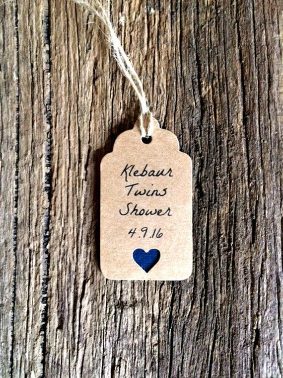 Personalized Baby Shower tags by Crafting Emotion on Etsy