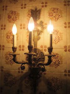 Appliques murales de type chandelier vintage