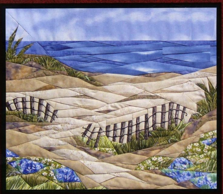 Image Result For Quilted Wall Hangings Of Beach Scenes