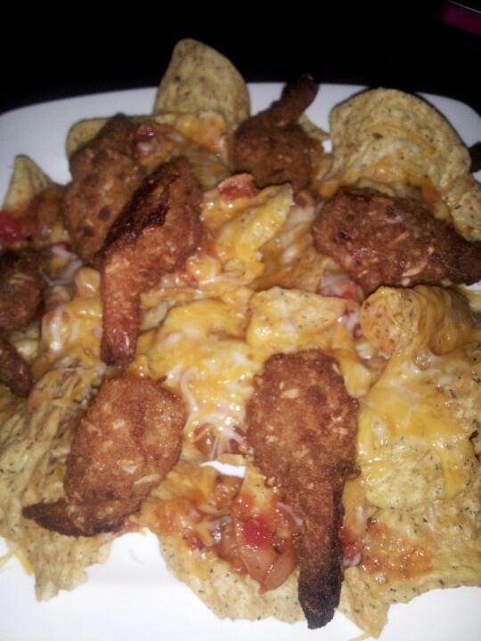 Nacho de camarones Yummy!!