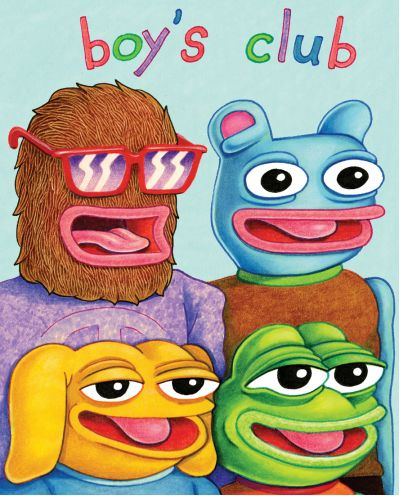 Artists :: Matt Furie :: Boy's Club