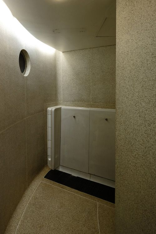 scavengedluxury:Barbican pissoir. London October 2015.