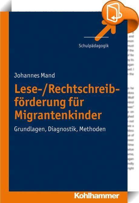Lese-/Rechtschreibförderung für Migrantenkinder    ::  Kinder mit Migrationshintergrund haben es schwer in deutschen Schulen. Ohne gezielte Förderung entstehen Entwicklungsverzögerungen und manchmal auch gravierende Probleme in der Lese-/Schreibentwicklung. Die Folgen: Schüler mit Migrationshintergrund werden zu hohen Anteilen als lernbehindert eingestuft. Sie stellen fast die Hälfte der Schulabgänger ohne angemessene Lesekenntnisse. Und viel zu viele von ihnen erreichen keinen Schulab...