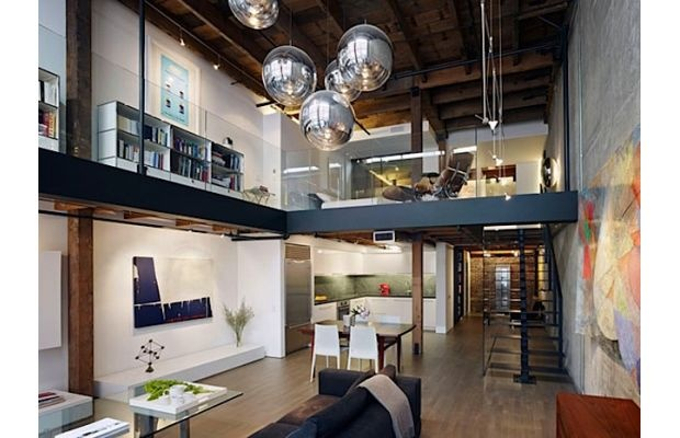 Warehouse To Loft Conversion In San Francisco