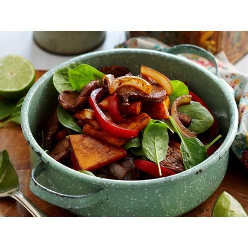 Pork and pumpkin stir-fry recipe. #StirFry #Pork #Lunch