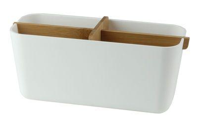 Zen Box White / Bamboo by Lexon