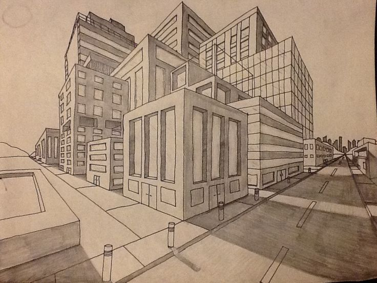 25 Best Ideas About Perspective Drawing On Pinterest