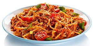 Pasta with Spicy Turkey Tomato Sauce | Canadian Diabetes Association