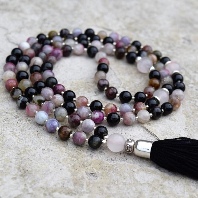Enlightenment Mala - Tourmaline