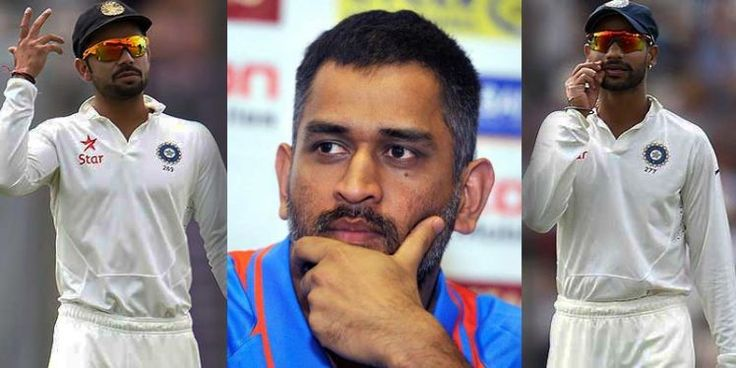 Dhoni recently decided to speak out about the Dhawan-Kohli dressing room spat, which led to the media believing that he feels threatened by Virat Kohli's success among the BCCI.