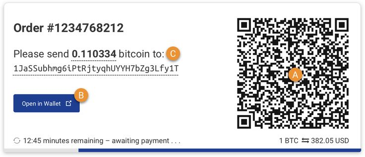 How to Pay with Bitcoin | BitPay Documentation