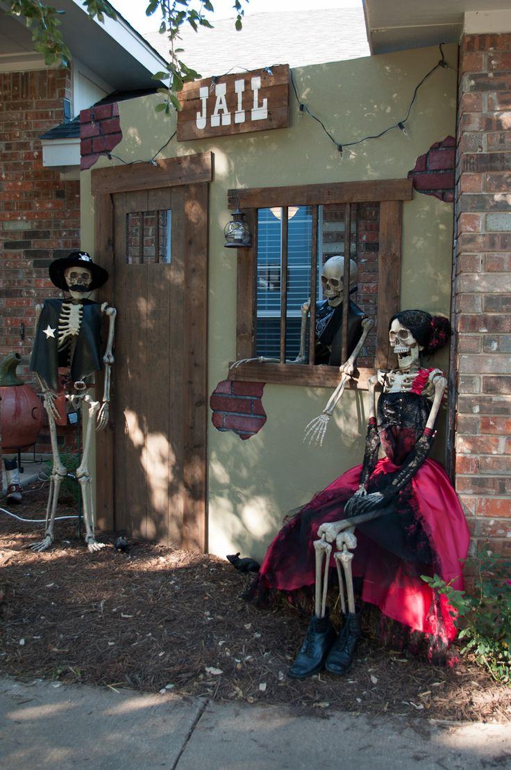 749 best halloween outdoor decor images on pinterest | halloween
