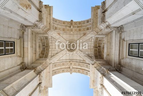 "Download the royalty-free photo ""Arco da Rua Augusta. Rua Augusta Arch, Lisbon, Portugal, Europe "" created by stillforstyle at the lowest price on Fotolia.com. Browse our cheap image bank online to find the perfect stock photo for your marketing projects!"