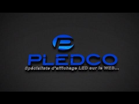 Pledco Broadcast Series Outdoor screen