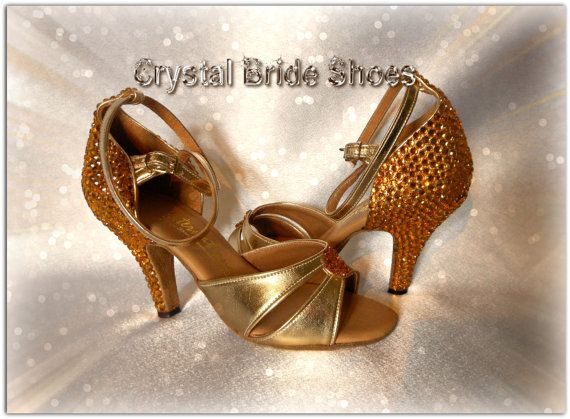 Dance shoes by International Dance Shoes UK by CrystalBrideShoes, £45.00