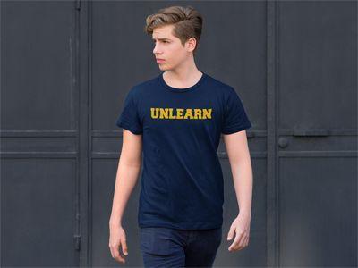 Men's Unlearn Graphic T-Shirt