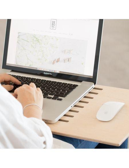 DELAPTOP soporte mesita para ordenador portátil