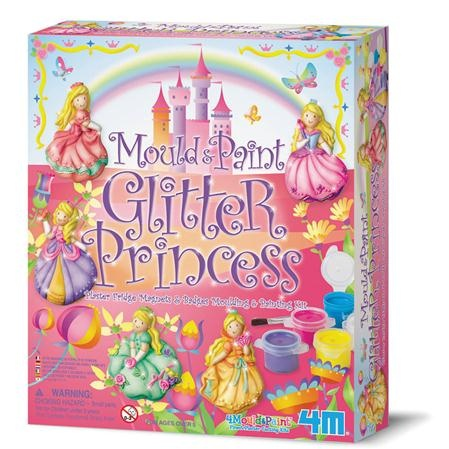 Great Gizmos Mould and Paint Glitter Princess,fairy dust majic :)