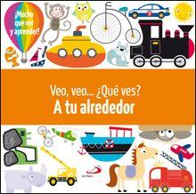 Con mucho animales y objetos que identificar y nombrar, este libro lleno de ilustraciones ayudará a los niños a desarrollar la capacidad de observar y adquiri nuevos conceptos. Búscalo en http://absys.asturias.es/cgi-abnet_Bast/abnetop?ACC=DOSEARCH&xsqf01=veo+ves+alrededor+davenport+roberts