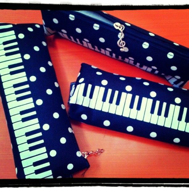 Piano Pencil Case #RhapsodieAccessories    https://www.facebook.com/photo.php?fbid=554449477929945=a.539031772805049.1073741825.100000946936447=1_count=1