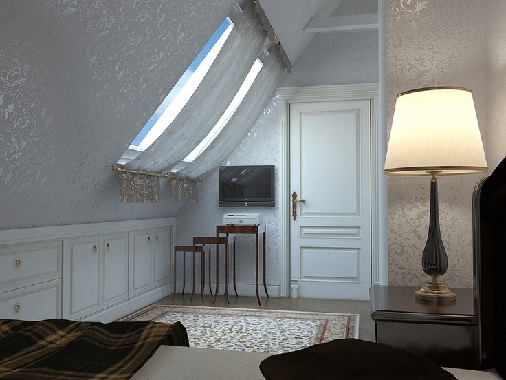 Bedroom Skylight With Covering