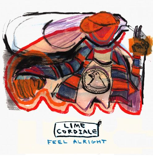 Lime Cordiale - Feel Alright - artwork