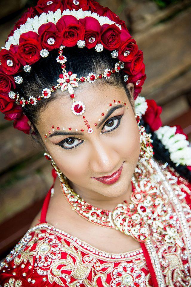 31 best Hindu wedding - hair, makeup and saree ideas images on Pinterest | Indian bridal, Tamil ...