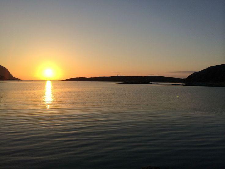 Mitternachtssonne in Forsøl