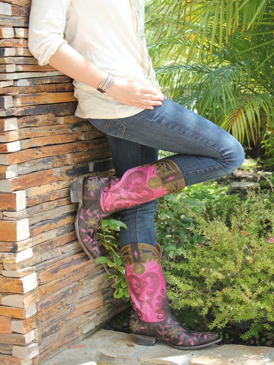 OLD GRINGO | Old Gringo Letty Chocolate Purple Womens Boot | WOMEN'S BOOTS | Cowboy Boots | Boot Star