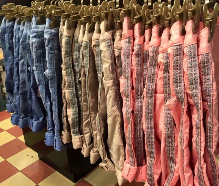 Nieuwe korte broeken stripe van Maryley