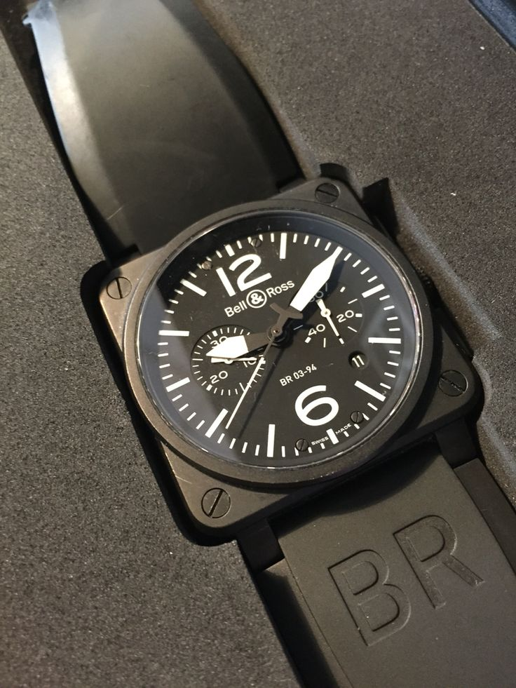 Pre-owned Bell & Ross military watches.