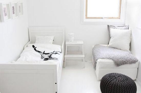 nordic kids roomBedrooms White, Girls Bedrooms, Kidsroom, Kid Rooms, Decor Inspiration, White Kids Room, Small Spaces, Barnrumkid Room, Room Kids