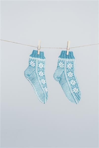 Tema 42: Modell 33 Fana sokker #strikk #knit #Fana