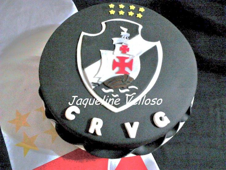Bolo do Club de Regatas Vasco da Gama - VASCÃO!!!