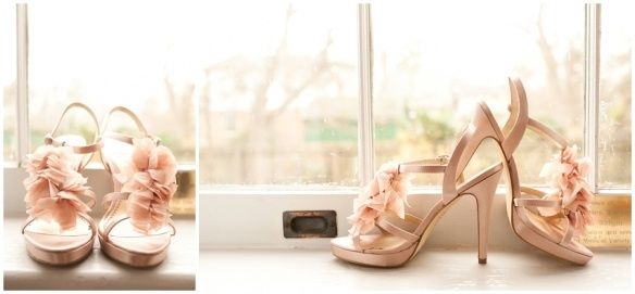 Peach ruffle shoe love.    Ombré Inspiration  Stephanie Yonce Photography