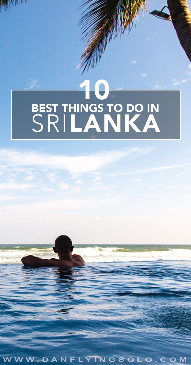From pristine empty beaches, taking an elephant safari or exploring lush tea plantations. The top 10 things to do in Sri Lanka  in photo form.