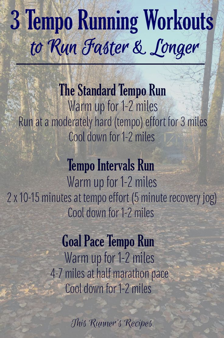 Tempo Runs: One Workout All Runners Need