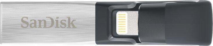 SanDisk - iXpand 128GB USB 3.0/Lightning Flash Drive