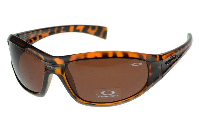 Wholesale Designer Oakley Asian Fit Sunglasses Brown Frame Brown Lens#Oakley Sunglasses