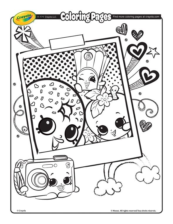 shopkins coloring pages - Google Search | Kids Craft Ideas ...
