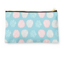 Studio Pouch     Brainy Pastel Pattern (Awesome Pastel Brains) Studio Pouches
