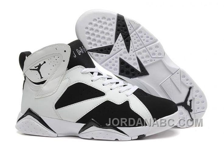 http://www.jordanabc.com/air-jordan-7-vii-whiteblack-for-sale-online-basketball-shoes.html AIR JORDAN 7 (VII) WHITE-BLACK FOR SALE ONLINE BASKETBALL SHOES Only $88.00 , Free Shipping!