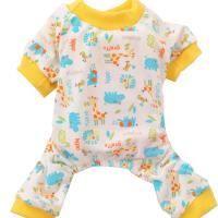 Pantalon - Pyjama Chiens petit pyjama animaux Jumpsuit imprimé mante