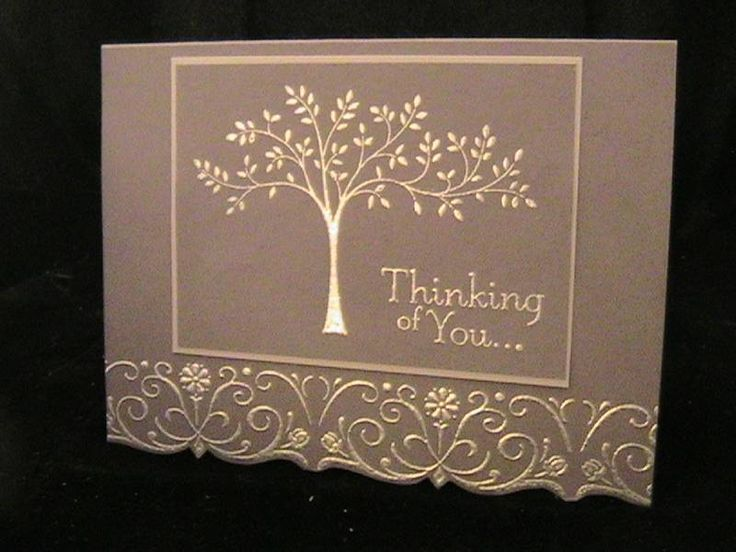 Card Making Ideas Sympathy Part - 21: Handcrafted Sympathy Card: Stampinu0027 Up! ... Handmade Sympathy Card By Susie