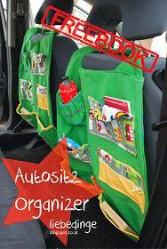 liebedinge: freebook Autositzorganizer