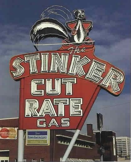 Stinker Station - Boise, ID.  Maybe this one is my favorite, even though it's gone now. :(  I can remember it!