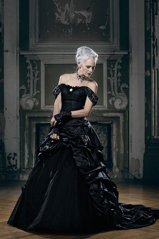 Since you like dapper seniors, this is the current catalogue of a famous German Goth fashion designer - Album on Imgur