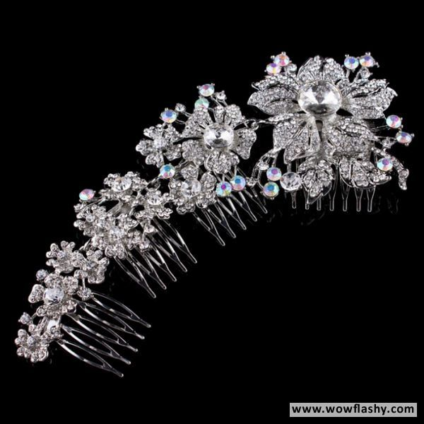 Black Hills Gold Vintage Black Hills Gold Jewelry Crystal Hair Clips Head Jewelry
