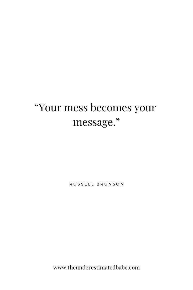 Die tiefgreifendsten Lektionen ergeben sich aus den tiefsten unserer Erfahrungen. Denken Sie daran, t … – Entrepreneurship