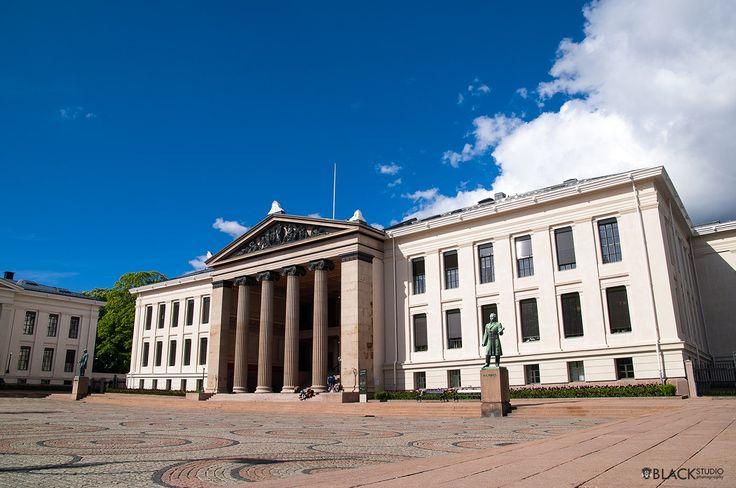 Oslo center, Norway  Uniwersity  www.BlackStudio.eu
